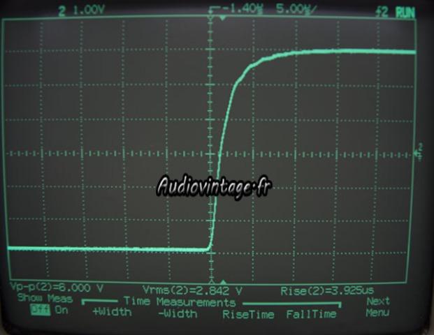 Sansui AU-9900-temps de montee-10khz-audiovintage