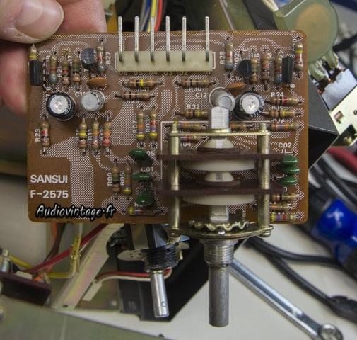 Sansui AU-9900-tone midrange-a reviser-audiovintage