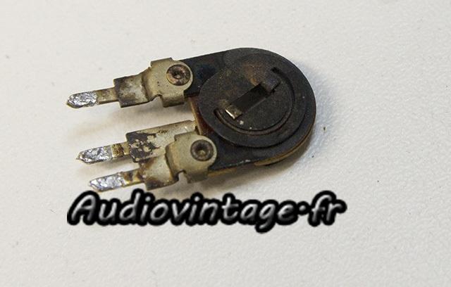 Sansui AU-9900-trimmer-a remplacer-audiovintage