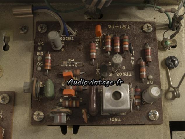 Sansui TU-777 : circuit à revoir.
