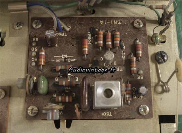 Sansui TU-777 : circuit revu.