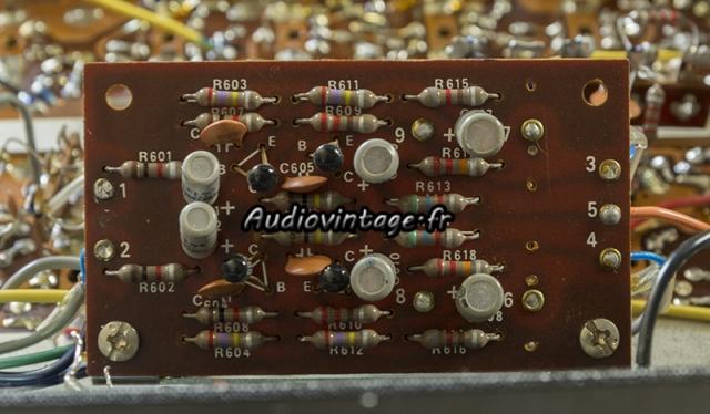 Sansui TU-777 : circuit audio à revoir.