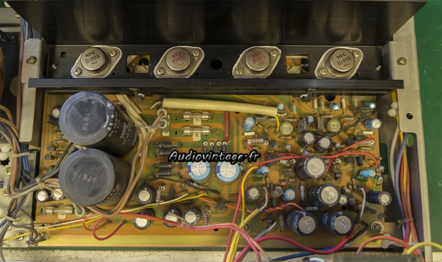 Sansui AU-217 : circuit principal à réviser.