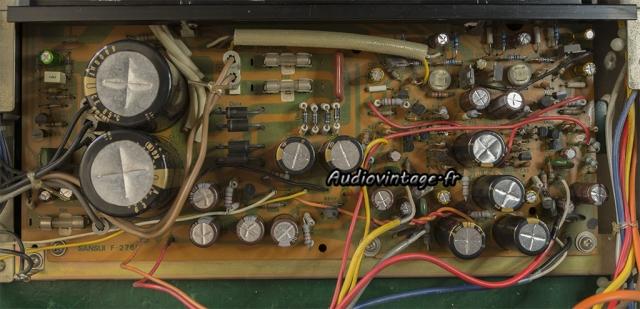 Sansui AU-217 : circuit principal révisé.