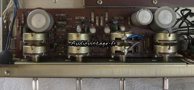 Sansui AU-222 : circuit de tonalité à revoir.
