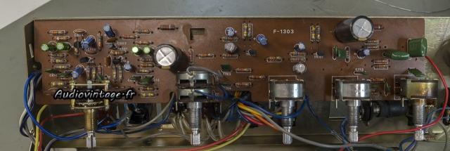 Sansui AU-505 : circuit phono et tonalité révisé.