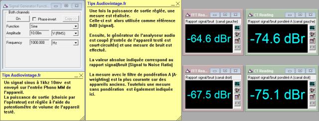 Sansui AU-505 : rapport-signal-bruit-a-2x1w-sous-8ohms-entree-phono