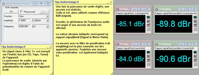 Sansui AU-505 : rapport-signal-bruit-a-2x23w-sous-8ohms-entree-aux