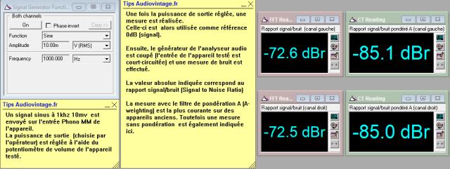 Sansui AU-505 : rapport-signal-bruit-a-2x23w-sous-8ohms-entree-phono