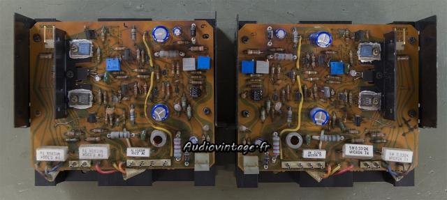 Sansui AU-717 : circuit drivers à revoir.