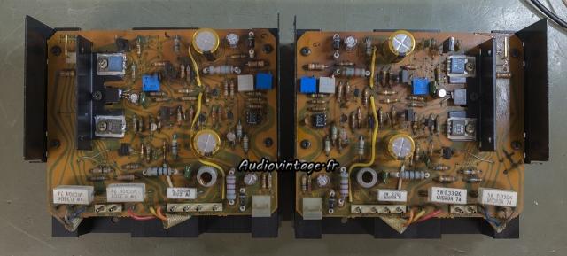Sansui AU-717 : circuit drivers révisés.