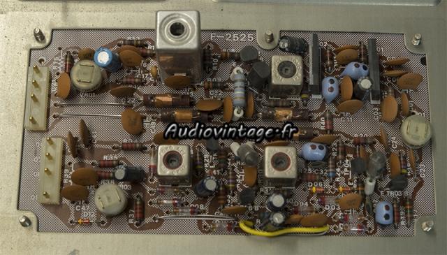 Sansui TU-9900 : circuit discri à revoir.