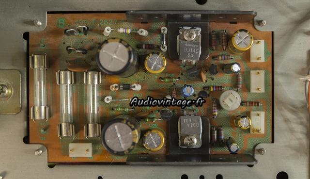Sansui TU-9900 : circuit alimentation rénové.