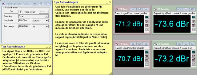 Sansui TU-9900 : rapport-signal-bruit-en-FM-mono-98mhz-70dBµV