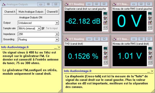 Sansui TU-9900 : separation-stereo-canal-droit-sur-canal-gauche-98mhz-70dBµV