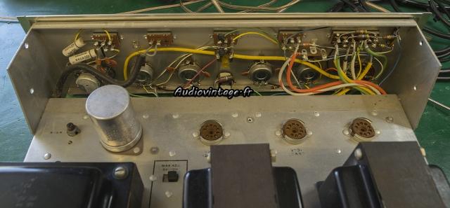 Scott 200-B : condensateurs à remplacer.
