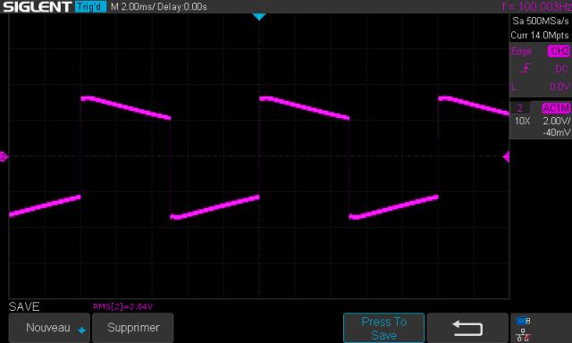 Scott 255 S : signal-carre-a-100hz