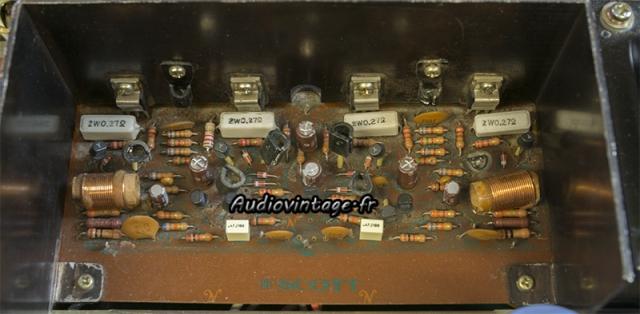 Scott A 416 : circuit amplification revu.