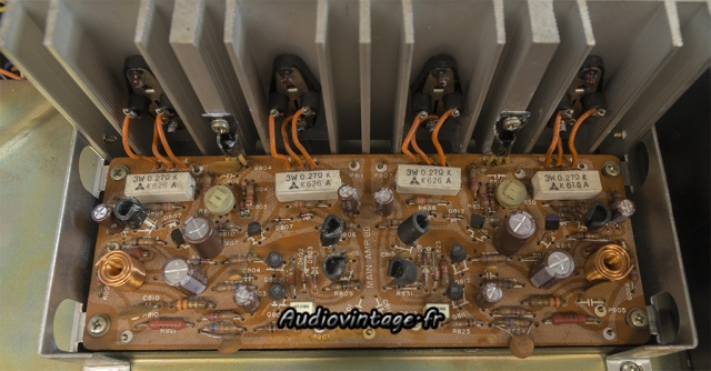 Scott A 436 : circuit réparé et révisé.