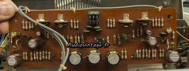 Sony TA-1010 : circuit principal révisé.
