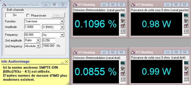 Sony TA-1010 : IMD-a-2x1w-sous-8-ohms-entree-aux