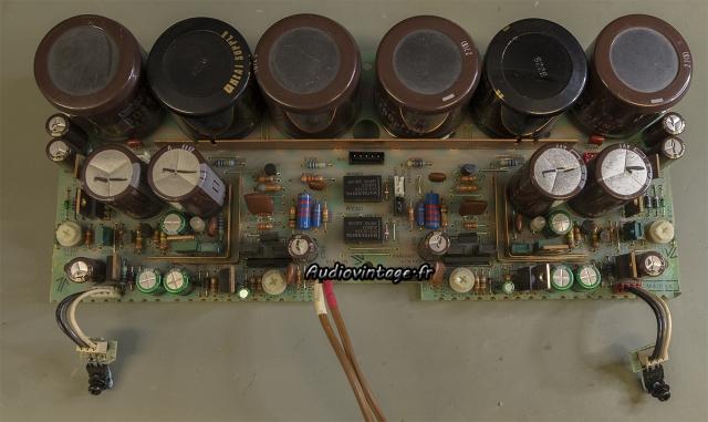Sony TA-N80ES : étage driver démonté.