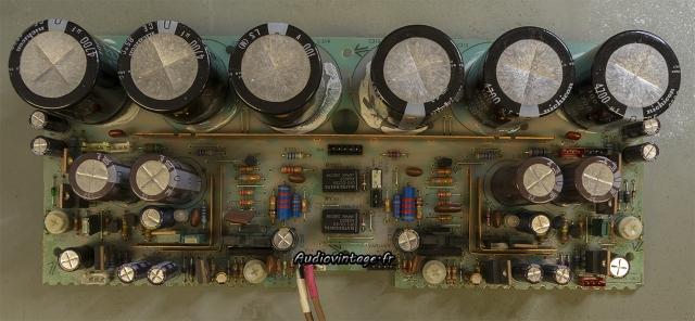 Sony TA-N80ES :  circuit driver réparé et révisé.