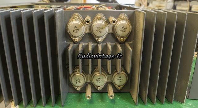 Studer A68 : transistors à remplacer.