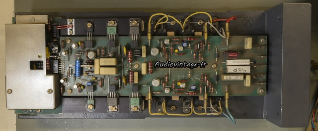 Studer A68 : circuit démonté.