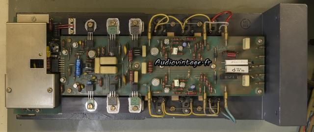 Studer A68 : circuit révisé.