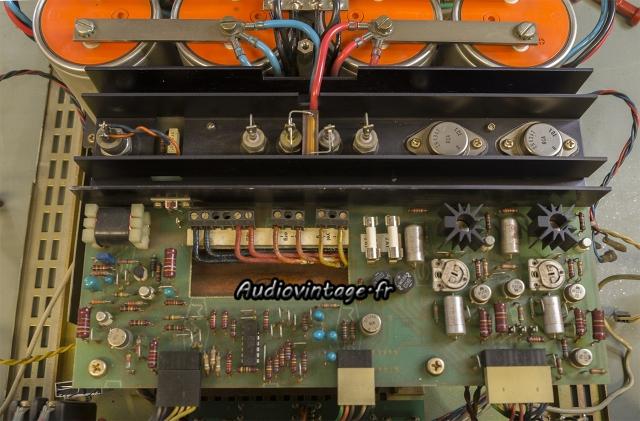 Studer A68 : circuit d'alimentation/protection à revoir.