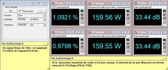 Studer A68 : distorsion-a-2x160w-sous-8-ohms