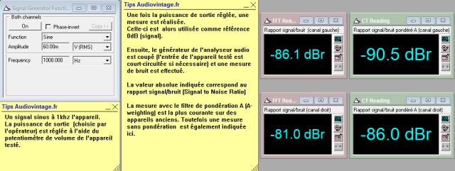 Studer A68 : rapport-signal-bruit-a-2x1w-sous-8-ohms