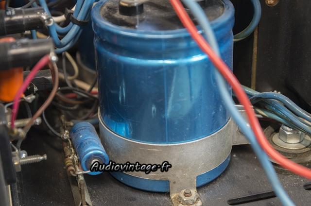 Threshold 400A :  condensateurs à remplacer.