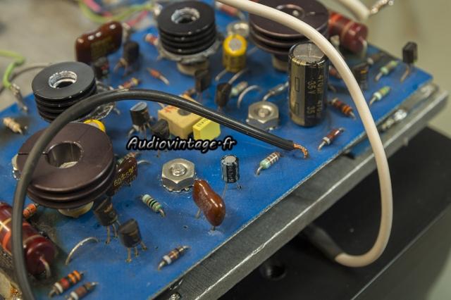 Threshold 400A : circuit driver droit, condensateur de mauvaise qualité à remplacer.