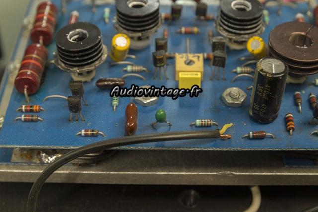 Threshold 400A : condensateur tantale HS.