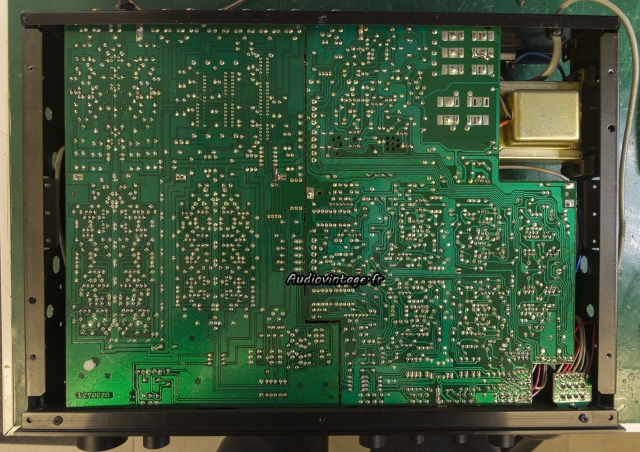 Yamaha C-6 : soudures toutes neuves :)