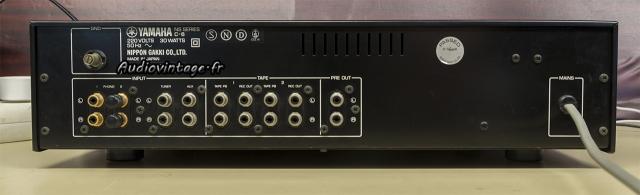 Yamaha C-6 : connectique.