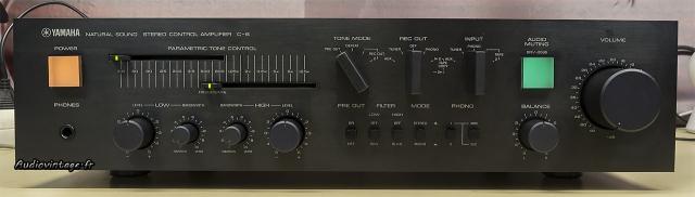 Yamaha C-6 : tout ce qu'il faut et plus encore...