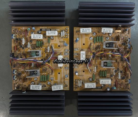 Yamaha CA-2010 : circuits drivers à réviser.