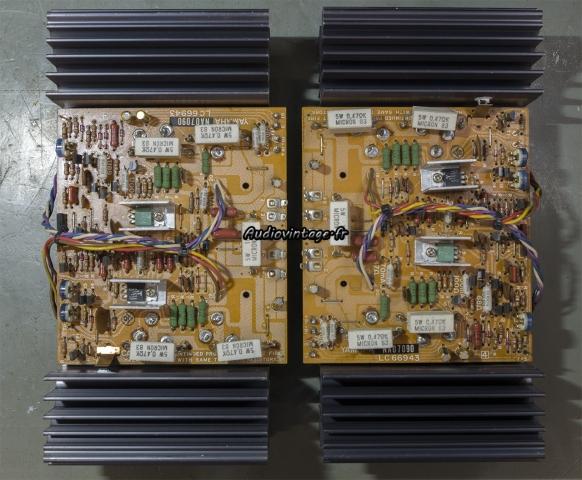 Yamaha CA-2010 : circuits drivers révisés.