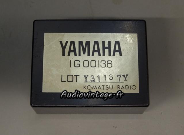 Yamaha CA-2010 : module vumètre en panne.
