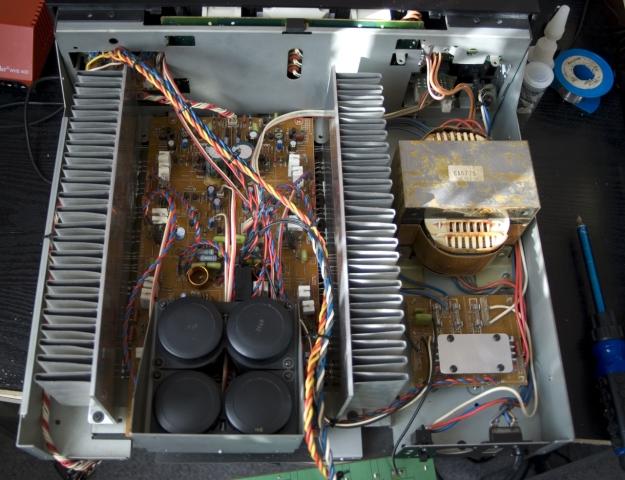 Yamaha M-65 après nettoyage